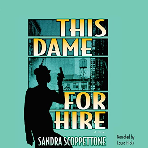 This Dame for Hire audiobook cover art