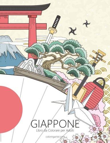 Giappone Libro da Colorare per Adulti 1: Volume 1