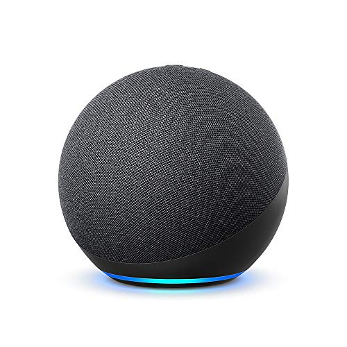 All-new Echo (4th generation) | With premium sound, smart home hub and Alexa | Charcoal