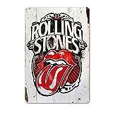 Kustom Factory Stahlplatte The Rolling Stones