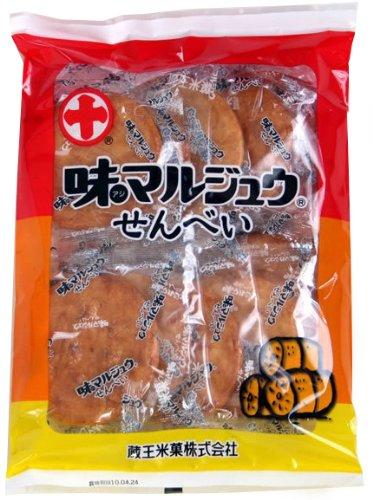 蔵王米菓 味マルジュウせんべい 10枚×12袋