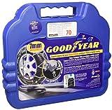 Goodyear 77952 Catene neve 7 mm per auto, Misura 070