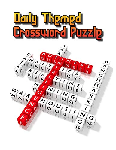 Daily Themed Crossword Puzzle: USA Today Crossword Puzzle Books For Adults , NY Times Crossword Puzzle Books 2019 , Easy As Pie Crossword Puzzles