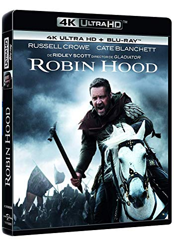 Robin Hood (4K UHD y BD) [Blu-ray]