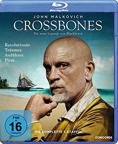 Crossbones, la completa 1 temporada [Alemania] [Blu-ray] [Francia]