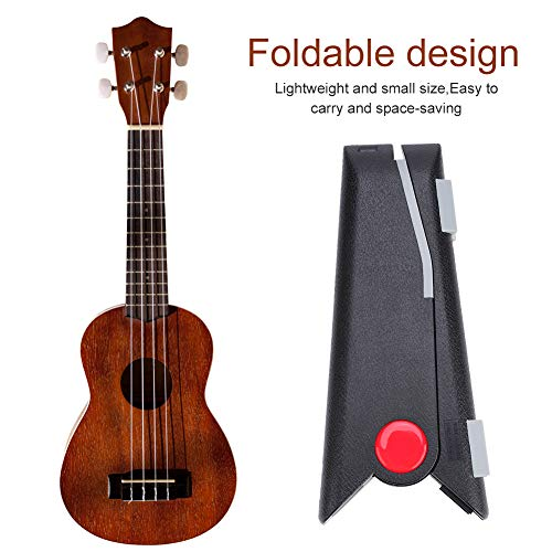 Soporte de ukelele de brazo extensible que ahorra espacio, soporte de ukelele...