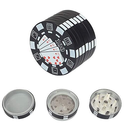 Imagen del producto Molinillos de especias,Grinder Especias,Grinder Metálico para Hierbas y Especias,3 Piezas,40 mm