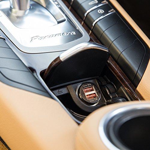 『WY 2ポートUSB車載充電器 [iPhone6s/6s Plus対応] 各社スマホ・iPadの車内充電 カーチャージャー 2.0A出力 小型 WY-CAR001』の4枚目の画像