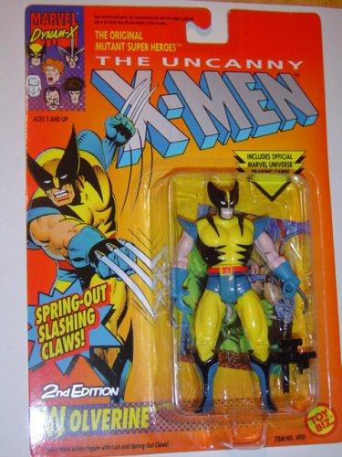 The Uncanny X-Men Wolverine 2nd Edition Action Figure