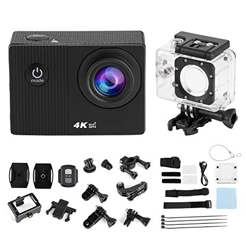 aqxreight - Action Camera 4K Full HD Wi-Fi Waterproof Cam 2