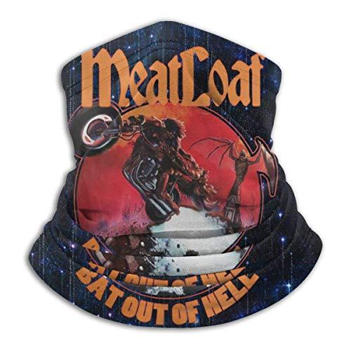 shenguang Meat Loaf Band BatOf Hell Neck Warmer Bandanas Scarf Face Veil