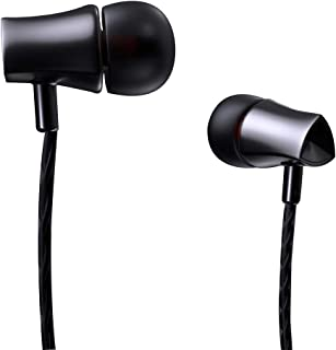 Debock E21 Wired in-Ear Headphone/Earphones with Multi-Function Button, in-line Microphone & Perfect Length Tangle Free Cable