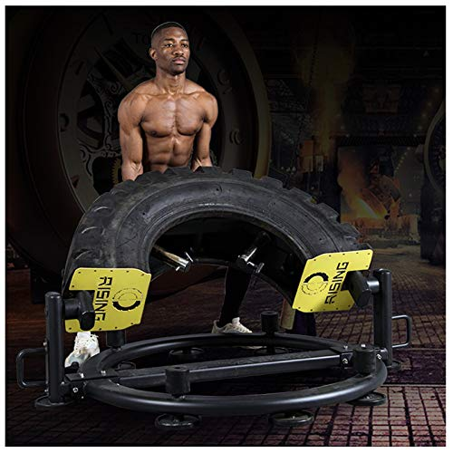 NENGGE Tyre Flipping Gym Equipment Fitness Rubber Tires Professional Strength Training Fitness Equipment for Home Exercise Workout Core & Abdominal Trainers