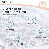 Momcozy Reggiseno da Allattamento Senza Cuciture per Donne 2 Confezioni con estensori. Reggiseno Imbottito Senza Fili per Allattamento