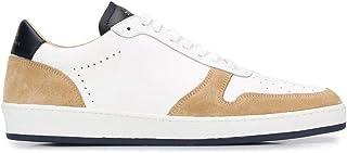 Luxury Fashion | Zespa Men ZSP23M01701 Beige Leather Sneakers | Spring-summer 20