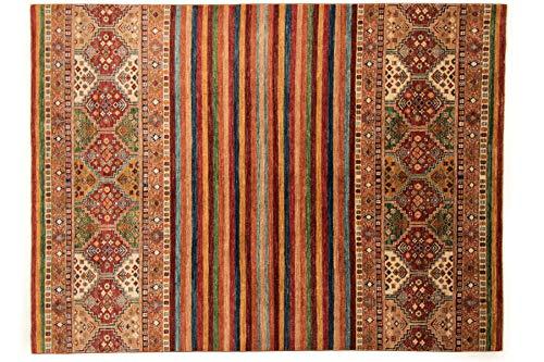 Afghan Ziegler Khorjin 274x203 Handgeknüpft Teppich 200x270 Mehrfarbig
