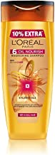 L'Oreal Paris 6 Oil Nourish Shampoo, 175ml (With 10% Extra)
