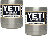 Yeti Coolers Stainless Steel Rambler LOWBALL - SET OF 2