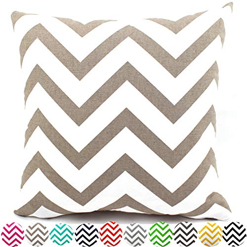 Unitysow Retro Raya Throw Pillow Case Funda de Almohada para Decorativa Funda de cojín sofá Sala de Estar Decorativopara 40 x 40 cm Caqui