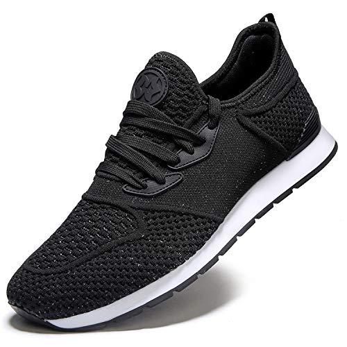 Zapatillas de Deporte Hombres Running Zapatos para Correr y Asfalto Aire Libre y Deportes Calzado Ligero Transpirables Gimnasio Sneakers