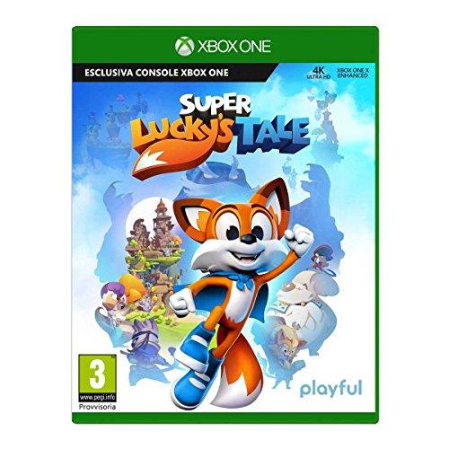 Super Luckys Tale Pegi 3, Console Xbox One, 4K UKTRA HD, HDR, Microsoft, Xbox Game Studios