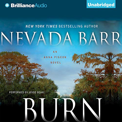 Burn: An Anna Pigeon Mystery, Book 16 cover art