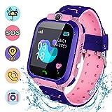 Fitfirst Reloj Inteligente para Niños, Smartwatch Niña IP67, LBS, Hacer...