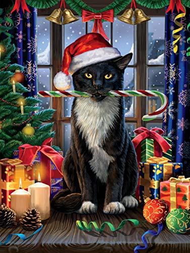 Tis The Season - Lisa Parker- Santa Paws Jigsaw Puzzle, 550 Pieces