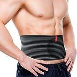 Supeak Umbilical Hernia Belt for Women and Men - Abdominal Support Binder
