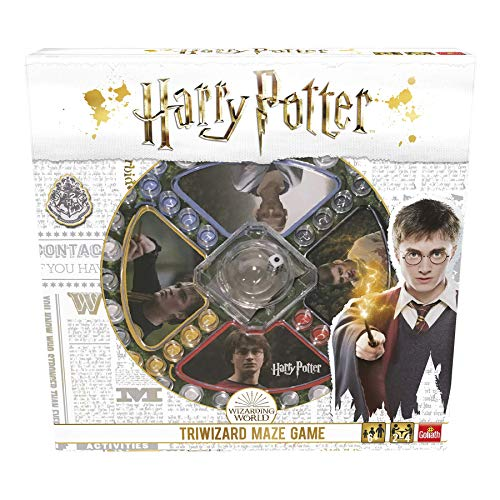Pressman- Harry Potter Los Tres Magos Juego de Mesa, Multicolor (Goliath Games...
