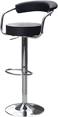 Magnificent Amazon Com Modern Contemporary Adjustable Bar Stools Set Gamerscity Chair Design For Home Gamerscityorg
