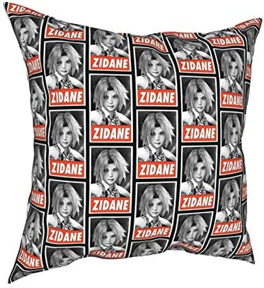 Houtiff Anime Final Zidane Tapestry Pillow Case Fashion Square Pillowcase Decor Throw Pillow product image