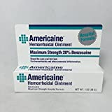 Americaine Hemorrhoidal Ointment, Maximum Strength - 1 oz (2 Pack)