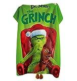 "The Grin-ch Stole Christmas Fleece Throw Blanket Ultra Soft Cozy Warm 50/""x40"