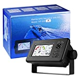 Matsutec HP-528A Navigatore marino, professionale HP-528A 4.3 pollici LCD LCD a colori Navigatore GPS Localizzatore di allarmi Classe B AIS Transponder Combo