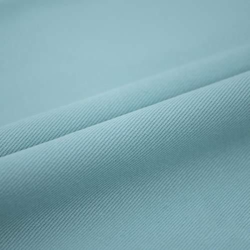 Tela de algodón puro lavado de color suave para manualidades, tela para pantalones vaqueros, camiseta, material de remiendo ropa de costura, abrigo de costura (tamaño: 4 m, color: 10 verde)