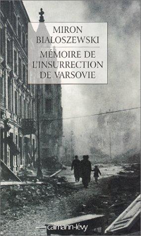 Mémoire de l'insurrection de Varsovie