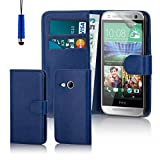 32nd Book Wallet PU Leather Flip Case Cover For HTC One