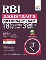 RBI Assistants Preliminary Exam 18 Practice Sets with 3 Online Tests 2nd Edition