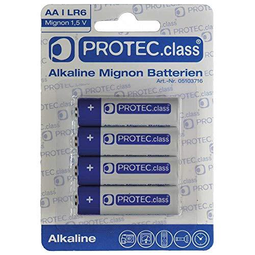 PROTEC.CLASS AA Mignon Batterien 4er Blister PBAT AA-0