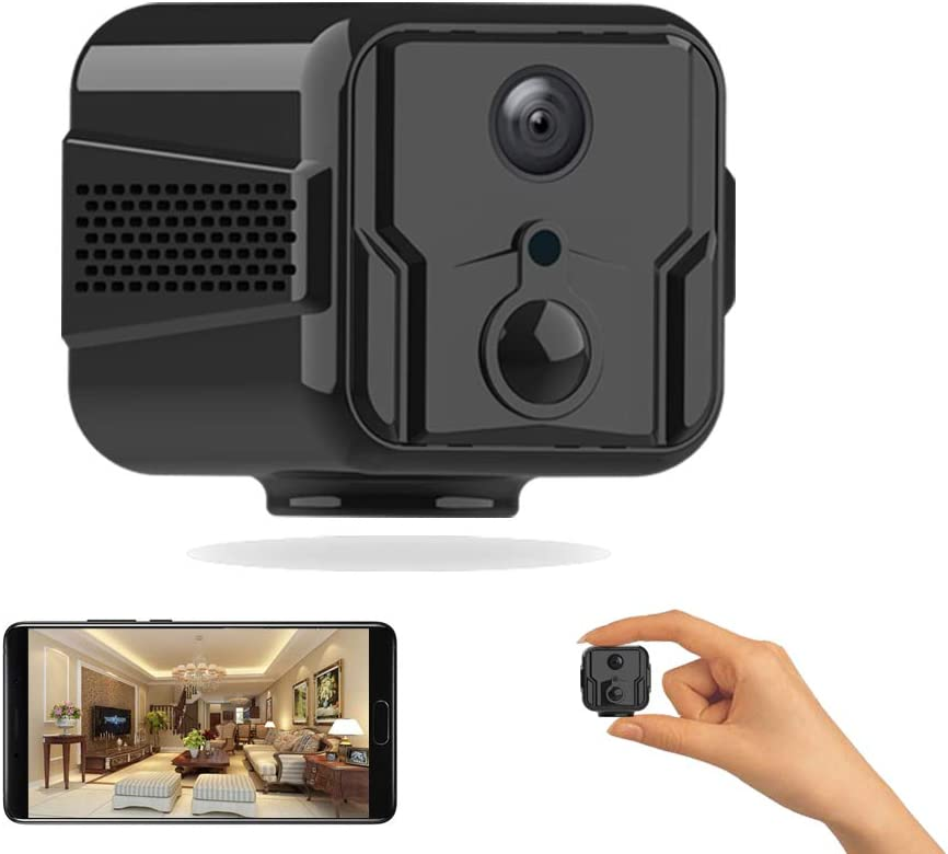 Mini Spy security Camera HD1080P New York Mall Hidden 10 2-Way Built-in Audio