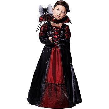 JT-Amigo Disfraz de Reina Vampiresa para Niñas, 7-8 años: Amazon ...