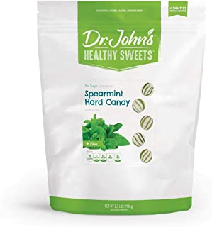 Dr. John's Healthy Sweets Sugar-Free Spearmint Hard Candies (2.5LB)