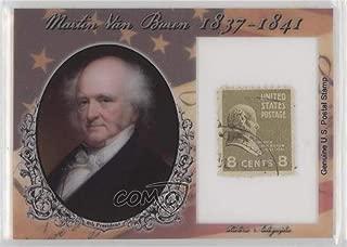 Martin Van Buren #13/90 (Trading Card) 2018 Historic Autographs POTUS - Stamps #ST-MVB