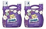 Snuggle Exhilarations Liquid Fabric Softener, White Lavender & Sandalwood Twist, 96 oz (Pack of 2)