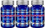 【3個セット】AllMax Nutrition カフェイン 200mg 100錠 [並行輸入品]