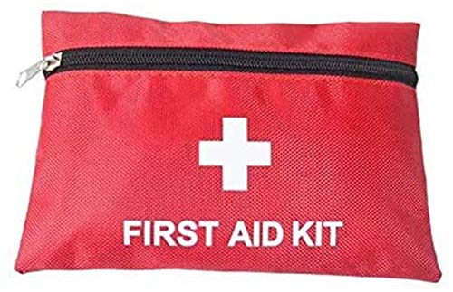 xingchen Portable Empty First Aid Kit Pouch Home Office Empty Medical Bag Small Red Emergency Car Emergency Kit Medical Liao Empty Bag for Outdoor