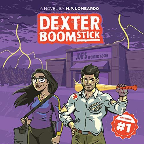 Dexter Boomstick audiobook cover art