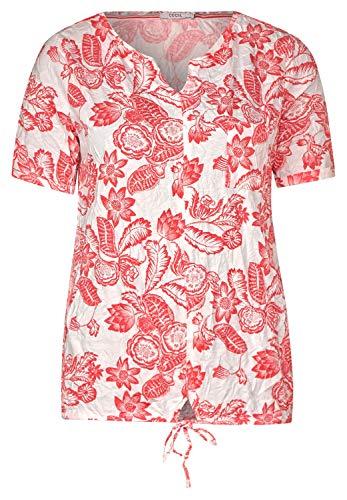 Cecil 314701 Camiseta, Alabastro Claro Blanco, X-Small para Mujer