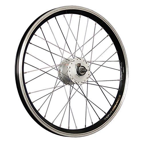 Taylor-Wheels 20 Zoll Vorderrad Grünert Dynamic4 Nabendynamo DH-C3000 schwarz